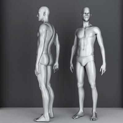 人物, 摆件, 雕塑