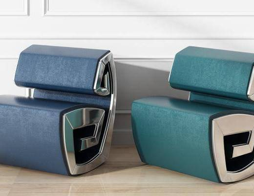 皮质单椅, 后现代单椅
