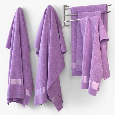 毛巾, 纯色毛巾, 现代毛巾挂架, 挂架, 挂架组合, 现代