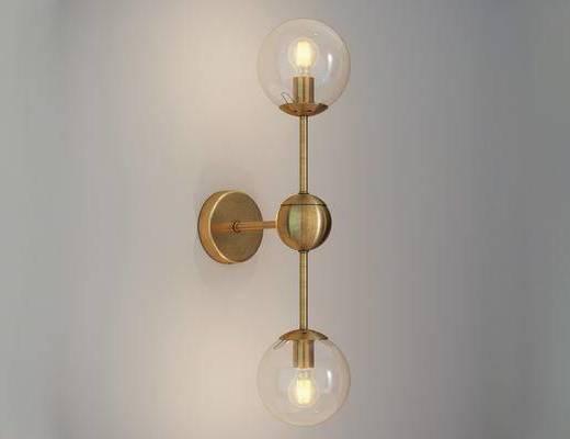 后现代, 后现代壁灯, 金属壁灯, 壁灯