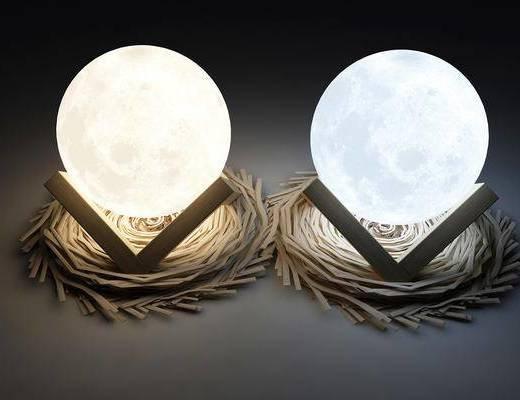 装饰灯, 现代