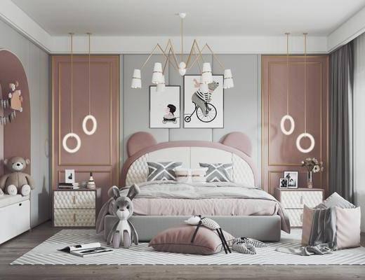现代, 女儿房, 家装