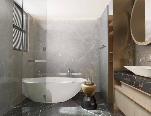 衛浴, 洗浴組合, 洗手間