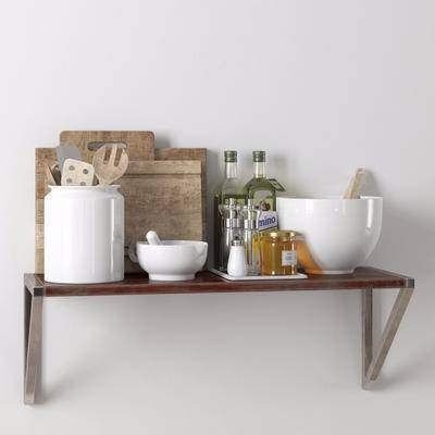 厨房摆件, 厨具组合, 摆件组合, 现代