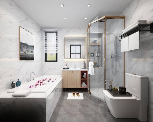 北欧卫生间, 卫生间, 卫浴