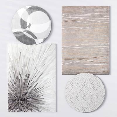?#23478;?#22320;毯, 方形地毯, 地毯组合, 现代