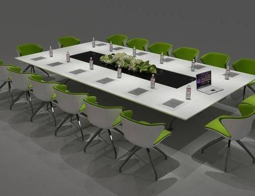 桌椅组合, 会议桌椅组合, 现代