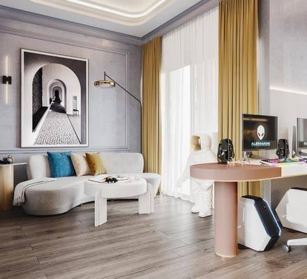 现代, 电竞室, 家装