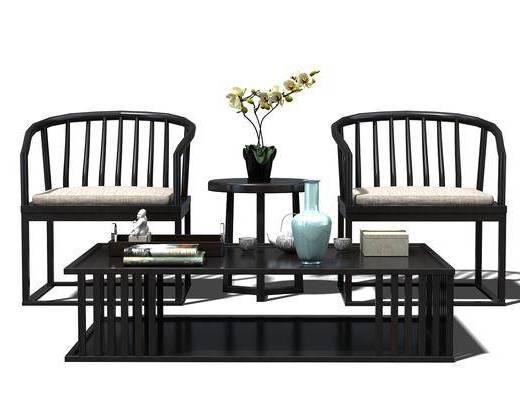 茶几, 边几, 单椅, 椅子