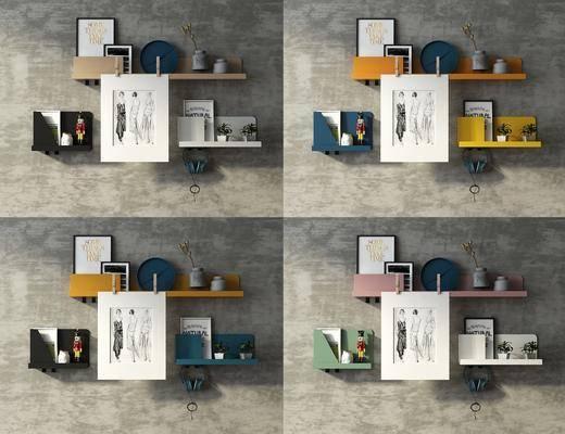 置物架, 挂件, 摆件, 装饰品, 陈设品, 北欧