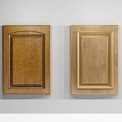 门板, 门, 木门, 柜门, 现代