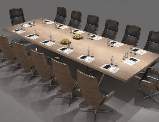 会议桌, 桌椅组合, 后现代