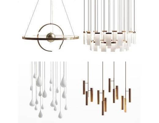 现代吊灯, 时尚吊灯, 吊灯组合, 吊灯