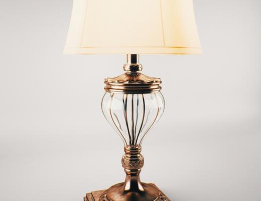 美式, 灯具, 台灯