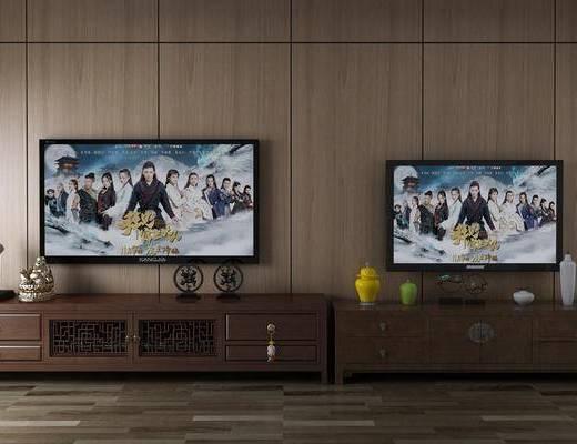 中式电视柜, 电视柜