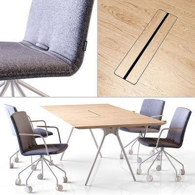 办公桌椅, 组合
