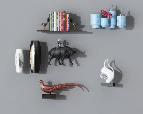摆件, 书籍, 雕塑