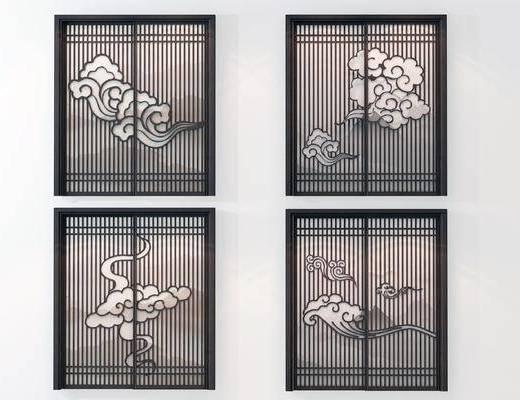 推拉门, 门, 新中式门
