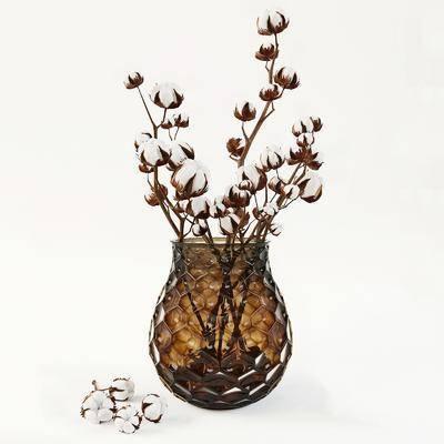 花瓶, 花瓶摆件