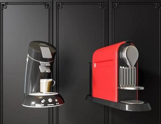 咖啡机, 电器