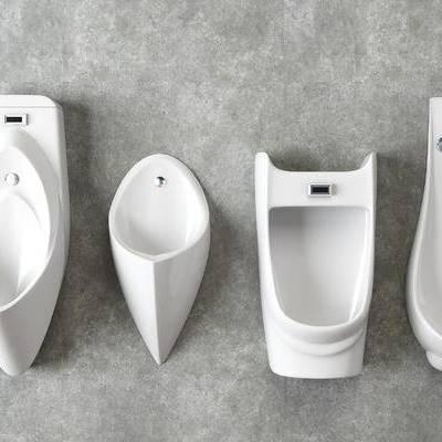 现代, 厕所, 便池, 尿池, 小便器