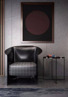 现代沙发单椅茶几组合, 现代, 椅子, 茶几, 单椅