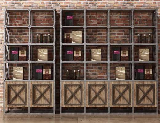 货架货柜, 展示柜架, 装饰柜架, 书架, 书柜