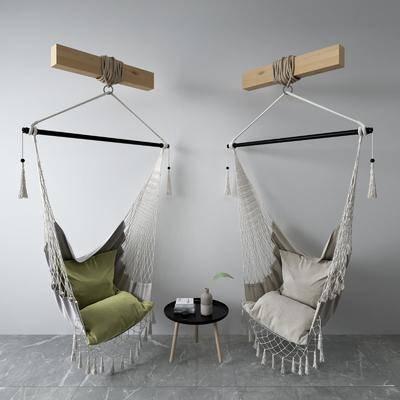 吊椅, 椅子, 茶几