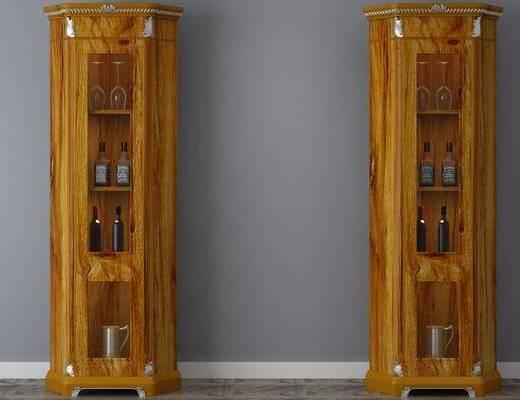 酒柜, 置物柜