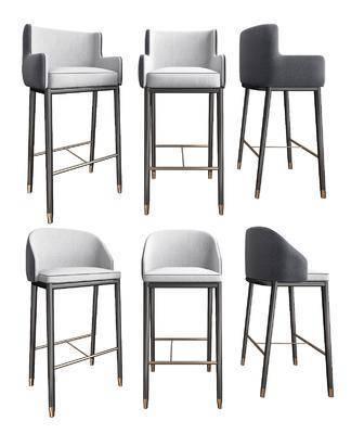 吧椅, 单椅, 椅子组合