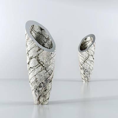 现代陶瓷花瓶, 花瓶摆件