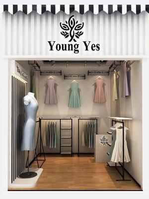 服装店, 服饰, 衣服, 服装