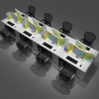 現代電腦桌, 電腦桌, 桌椅組合