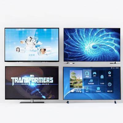电视机, 现代, 家电, 现代电视机