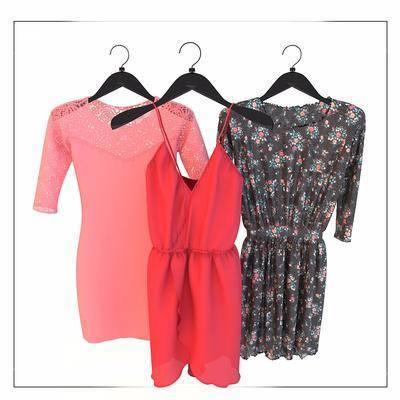 服装, 女装, 衣服, 现代