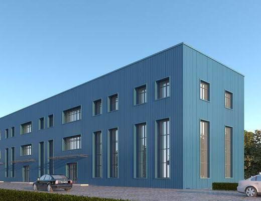 物流仓库, 钢结构, 生产车间, 厂房