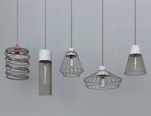 吊灯, 现代吊灯, 金属吊灯, 铁艺吊灯, 餐厅吊灯, 艺术吊灯, 灯泡吊灯