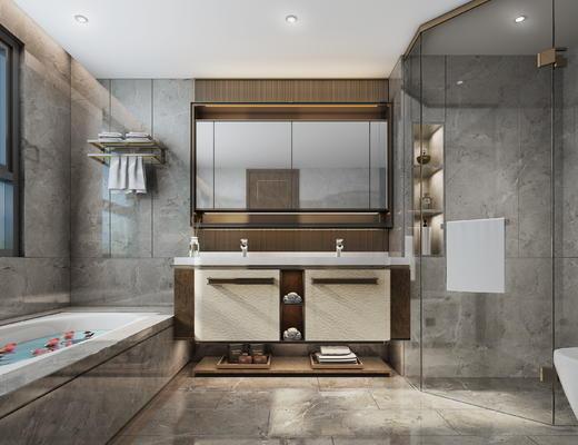 卫生间, 厕所, 浴室柜, 卫浴用品