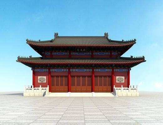 古建, 户外建筑, 中式古建