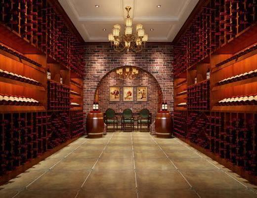 美式酒窖, 酒窖