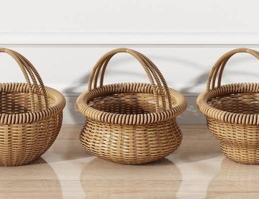 竹篮, 编织篮