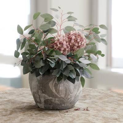 后现代, 花瓶, 装饰, 摆件, 植物