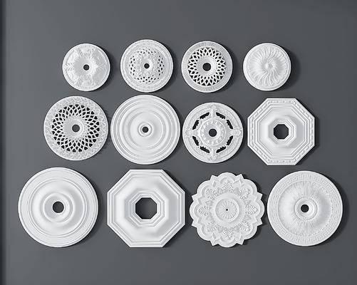 欧式石膏雕花