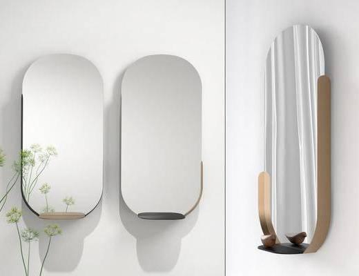 装饰镜, 现代