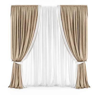 窗帘, 窗纱, 现代窗帘, 纯色窗帘, 艺术窗帘, 现代