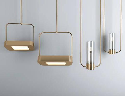金属壁灯, 吊饰, 现代