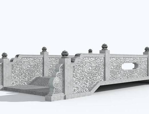 石拱桥, 小桥石桥, 中式