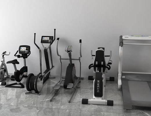 跑步机组合, 体育组合, 现代