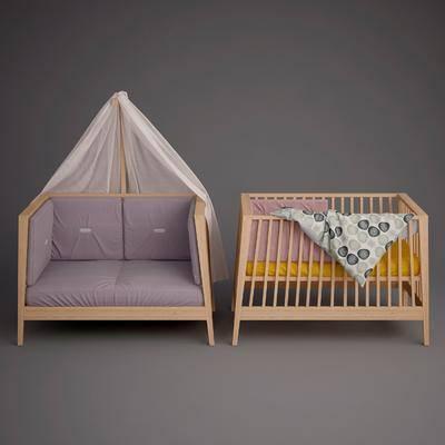 儿童床, 婴儿床