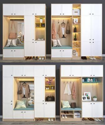 鞋柜, 衣柜, 置物柜